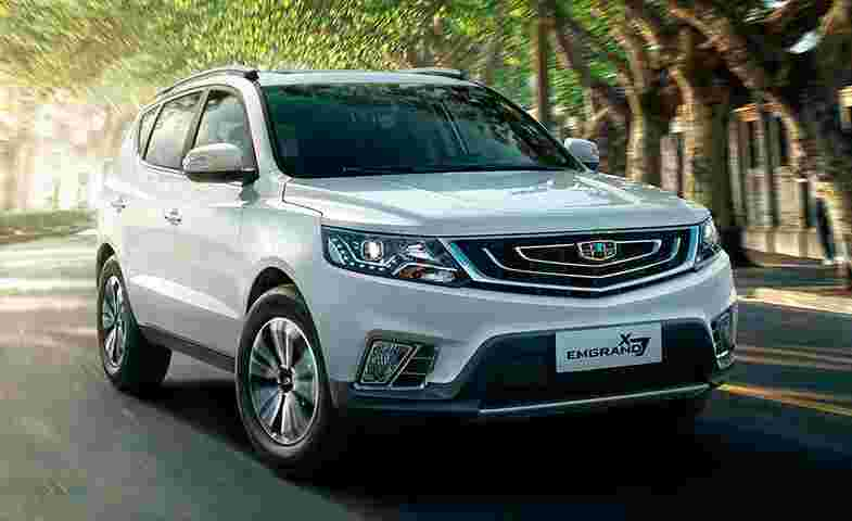 Emgrand X7 - Geely motors